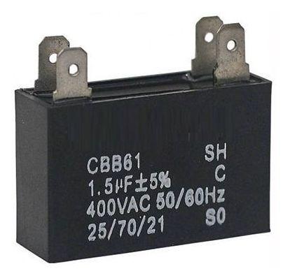 Capacitor 1,5 Uf 380v Para Ar Condicionado