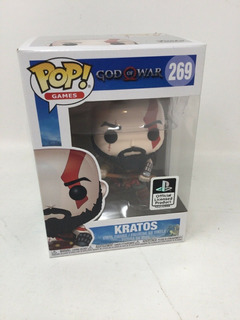 Figura Funko Pop! #269 Kratos God Of War 100% Original