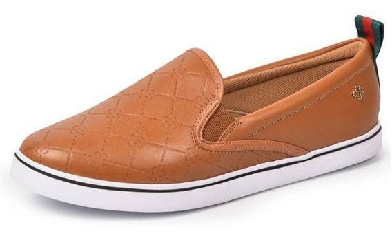 Tênis Feminino Capodarte Monograma Sneakers Slippers