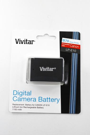 Bateria Vivitar Lp-e10 Para Canon T5, T3