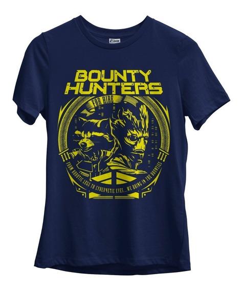 Camiseta Feminina Guardiões Da Galáxia Groot Rocket Raccoon