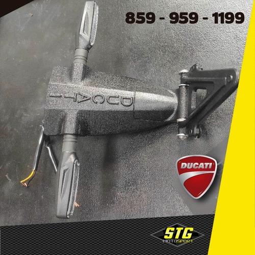 Portapatente Fender Rebatible Stg Ducati Panigale 1199