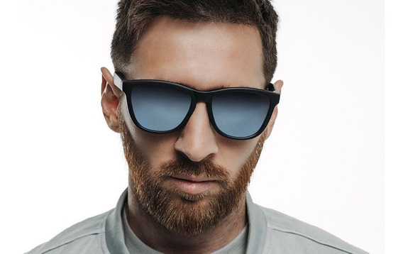 Gafas Hawkers X Messi - Carbon Black Blue Chrome One