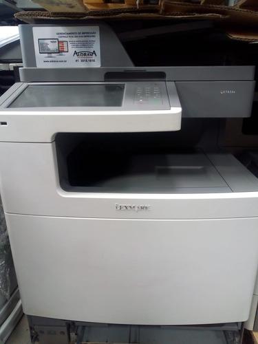 Impressora Lexmark Color X792 De, Com Toner No Estado