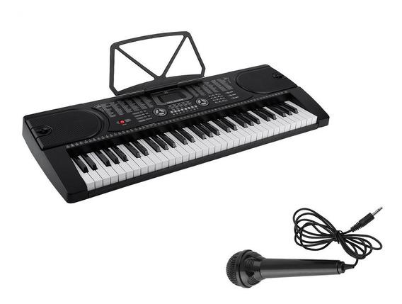 Organo Teclado Musical 61 Teclas Meike Mk2089 Ritmos Cuotas