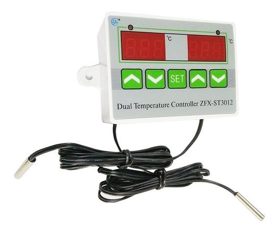 Termostato Duplo Controlador De Temperatura Multifunção