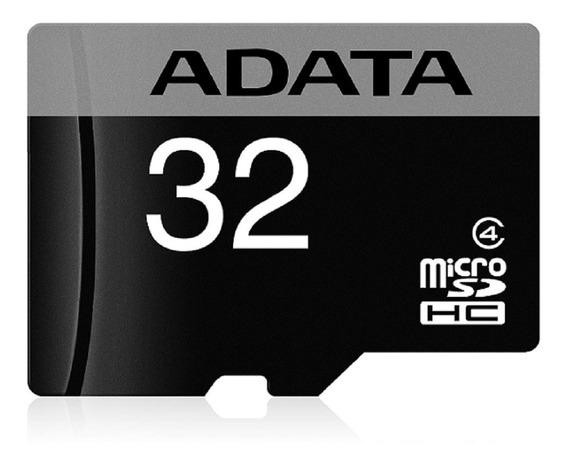 Cartão De Memoria 32gb Adata Microsdhc Com Adaptador