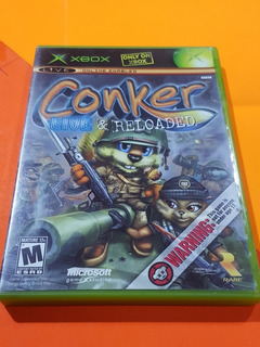 Conker Live & Reloaded Xbox Clásico // Compatible 360 Y One