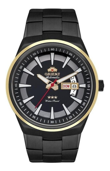 Relógio Orient Automático Masculino Automátic 469tt081 Preto