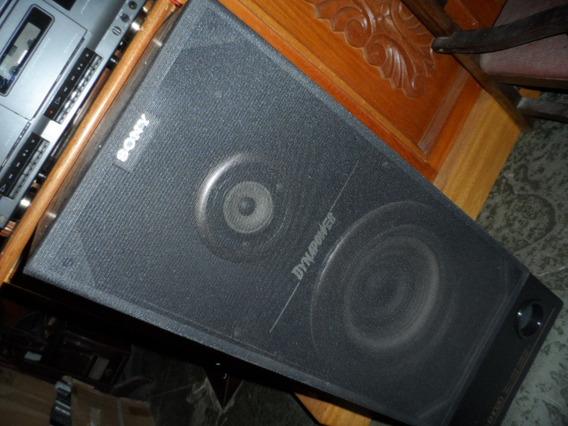Sony Caixa De Som Ss-b1020 Dynapower 18cm Woofer 50 Tweeter