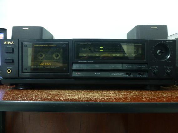 Tape Deck Aiwa Ad-f370 ( Toca Fita [ Cassete { K7 }])