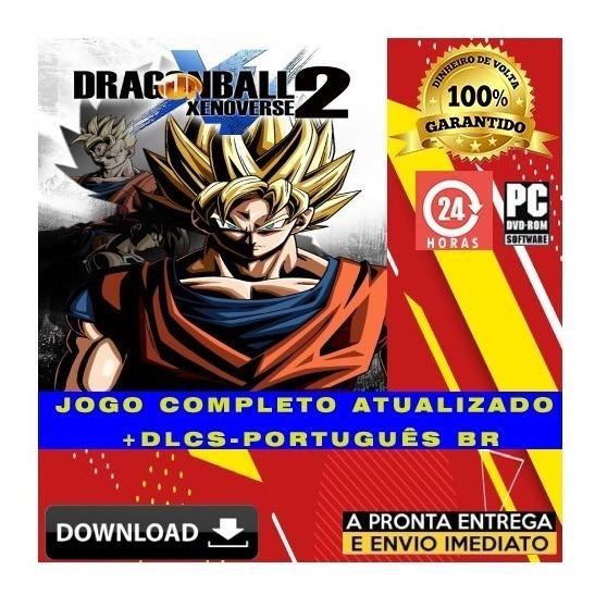 Dragon Ball Xenoverse 2 Pc - Digital + Todas Dlcs + Brinde