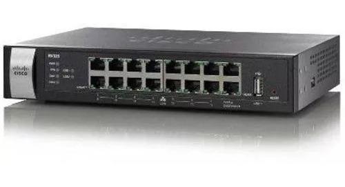 Roteador Cisco Rv325-k9-na Dual Gigabit Wan Vpn 14 Lan