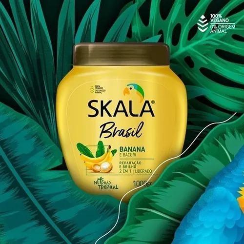 Máscara Skala Nutrición Banana Y Bacuri. Liberada!