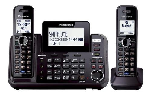 Panasonic Tlf Inalám Kx-tg9542 2 Líneas 4 Celular Dect 6.0
