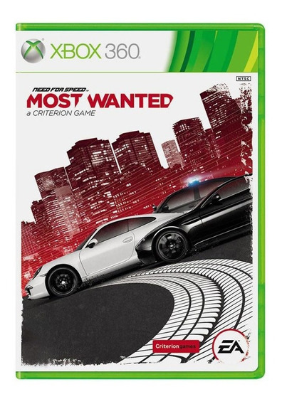Need For Speed Most Wanted - Xbox 360 - Usado - Original