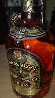Whisky Chivas Regal 12 1l.con Historia