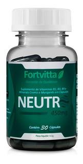 Desodorante Interno Neutro - 30 Cápsulas - Fortvitta