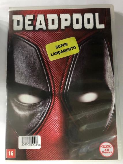 Deadpool - Dvd Usado