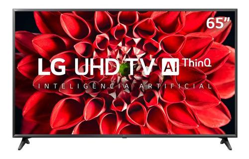 Imagem 1 de 5 de Smart Tv Ultra Hd Led 65 Polegadas LG 4k 3 Hdmi 2 Usb Wi-fi