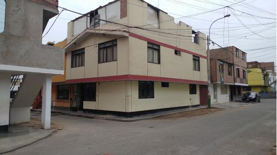Ocasion Casa Esquina 3pisos Av El Olivar Y Dominicos
