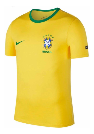 Playera Nike Brasil (tallas) 100% Original Futbol Hombre 88