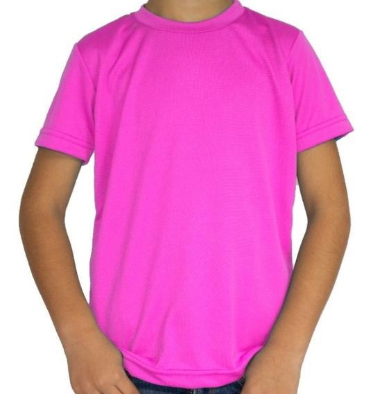 Playera P/ Niños P/ Sublimar Dry Fit Colores