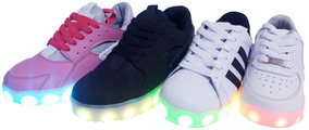 Zapato Tenis Led (luces - Luminosos) Garantía 3 Meses