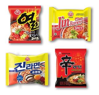 Box Ramen Coreanos Ramyun Fideos Sopa Samyang Asia Kpop