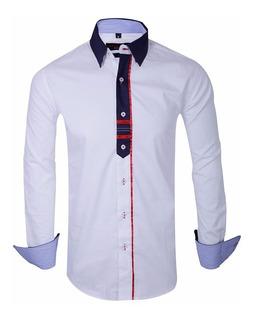 Camisa Entallada Importada Hombre - Quality Import Usa