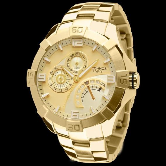Relógio Technos Dourado Jr00ah