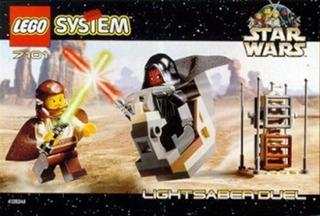 Star Wars Lego Sable De Luz Duelo 7101