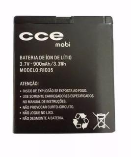 Lote 2 Bateria Celular Cce Mobi Modelo: Rio35 Original