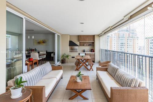 Apartamento Para Venda Em São Paulo, Campo Belo, 4 Dormitórios, 4 Suítes, 5 Banheiros, 4 Vagas - 3142_2-1168116