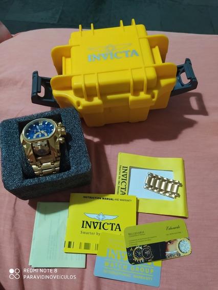 Relógio Invicta Magnum Zeus Bout Com Caixa