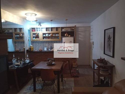 Imagem 1 de 24 de Apartamento À Venda, 50 M² Por R$ 280.000,00 - Vila Paulista - Guarulhos/sp - Ap2826