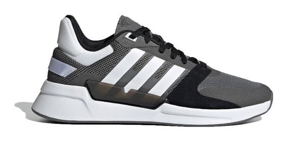 adidas Zapatillas Lifestyle Hombre Run 90s Gris-bco-neg Fkr