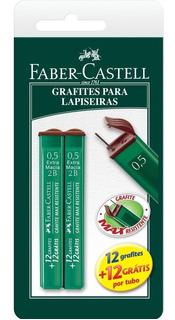Grafite Faber-castell Fino Polymer Técnico 0,5mm 2b