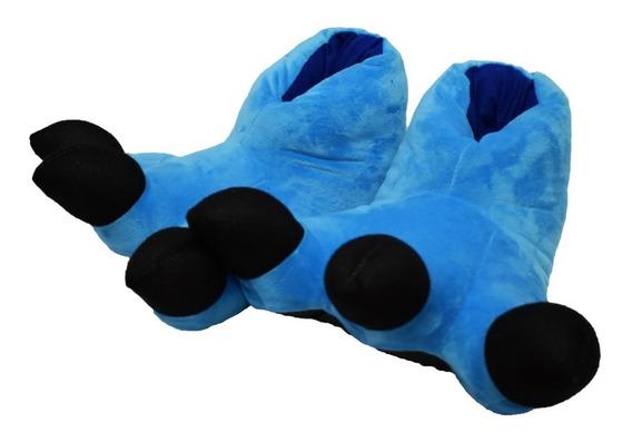 Pantufla Garra Azul Pijama Kigurumi Envío Gratis !!!