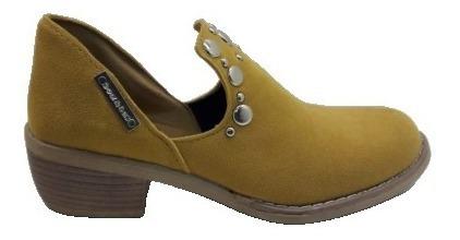 Botas Mujer Botinetas Zapatos Botitas Borcegos Chatas Texana