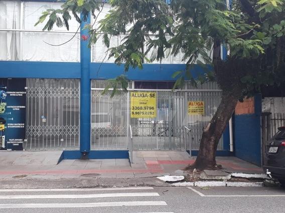 Locação Comercial, Térreo E 1o Andar, Central, 270 M² Total, Área De Grande Fluxo - Lo124