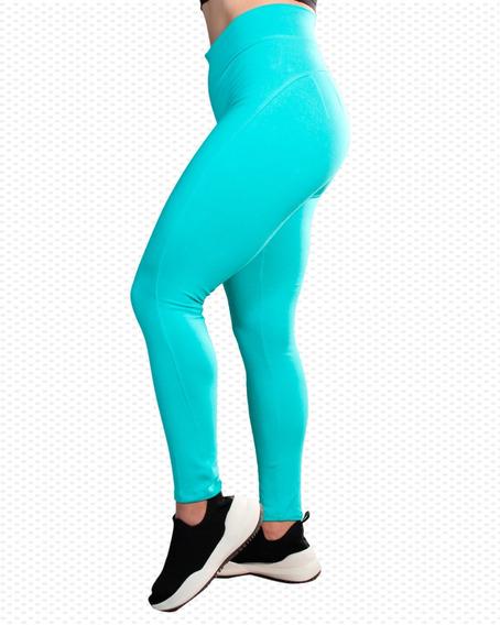 Legging Push Up Tenzzion Varios Colores, Licra Malla, Cómoda