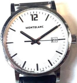 035 Rlg Relógio De Pulso Montblanc Made Suiça À Prova D