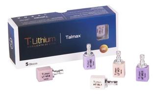 Bloco Para Cad/cam De Dissilicato T-lithium - Talmax Ht Va1