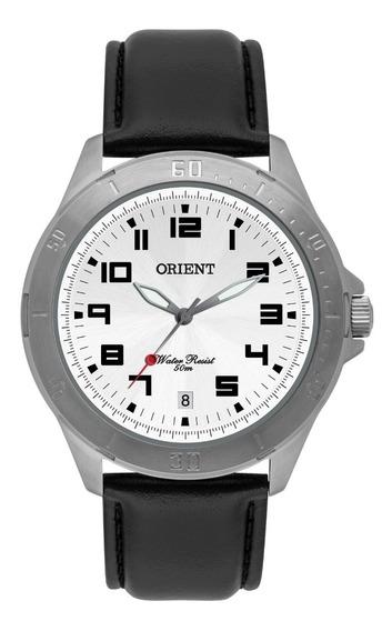 Relógio Orient Masculino Mbsc1032 S2px Preto Couro Oferta
