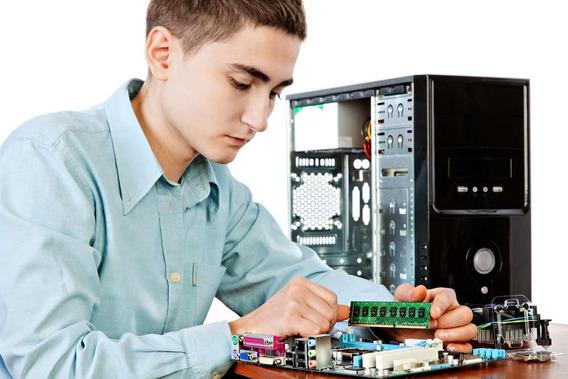 Curso Faculdade De Eletrônica E Hardware De Pc- Super Oferta