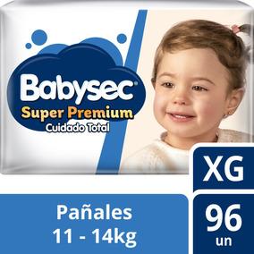 Pañal De Bebe Babysec Super Premium Talla Xg 96u Tienda Ofic