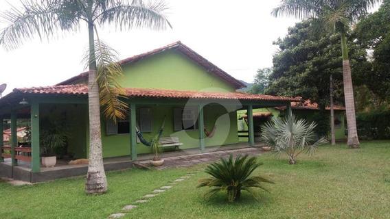 Chácara Residencial À Venda, Centro (sambaetiba), Itaboraí. - Ch0005