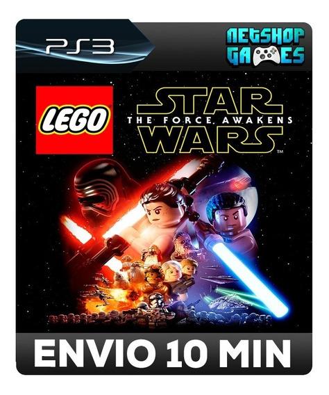 Lego Star Wars The Force Awakens - Psn Ps3 - Envio Imediato