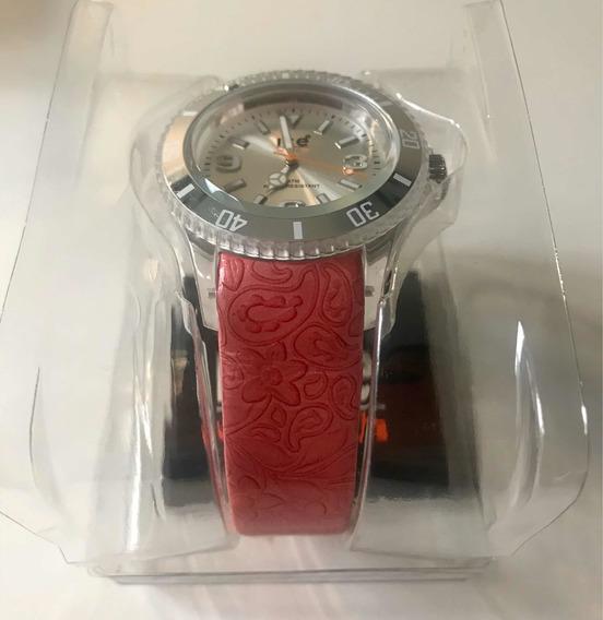 Reloj Ice Flower Pink